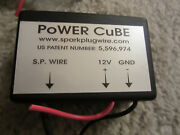Power Cube Fuel Saving Device And Ignition Enhancer Spark Pre-ioniser.