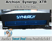 Archion Synergy Xtr Raid Chassis With 16 X 2tb Drives And Atto Fc-42es Card