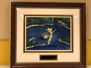 Original Production Cel Of Tinkerbell From The Wonderful World Of Disney