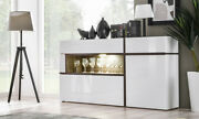 Sb Chandler - Contemporary White Sideboard / Dining Room Buffet Cabinet