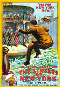 Decoration Poster.home Room Art.interior Design.streets Of New York Ferry.7192