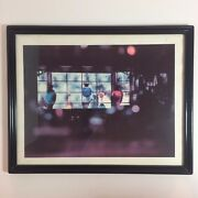Vintage Framed Picture Of Pharmacy Hanging Glass Bottle / Potions And Window 15
