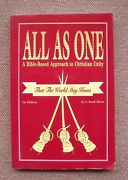 All As One Bible Based Approach To Christian Unity Stark Davis Vg++