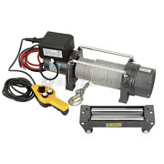 Wire Rope Pulling Hoist Electric Winch Pull 2720 Kg Fervi 0630/2720