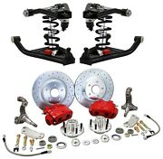 Deluxe 1967-69 Camaro Coil Over And Tubular Control Arm And Big Brake Suspension Kit