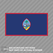 Guam Flag Sticker Decal Vinyl State United States Territory Of