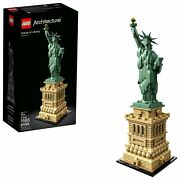 Lego Statue Of Liberty 21042 Building Kit 1685 Piece