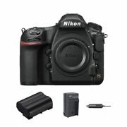 Nikon D850 Dslr Camera Body Only With Extra Battery + Car Charger
