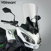 National Cycle Vstream Tall Windshield Screen Clear For Kawasaki Versys N20120