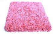Candy Shag Passion Pink Thick Ultra Soft Luxury Shag Area Rug