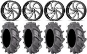 Msa Mach Switch 24 Wheels 40 Bkt At 171 Tires Can-am Renegade Outlander