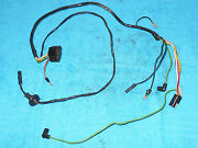 1966 Mustang Fastback Cpe Convrt Gt Shelby Orig 2 Speed Wiper Motor Wiring Leads