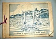 Occupied Japan Second Marine Division Wwii Inscribed And Signed By General Hunt