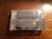 Micro-trains N Scale Gn Great Northern 20406-2 2 Pack 40and039 Standard Single Door