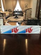 Vintage Rc Royal Crown Cola Metal Sign -in Good Condition / Part Of A-treat Rack