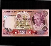 Northern Ireland 20 Pounds 1982 P-4a Unc Rare Date