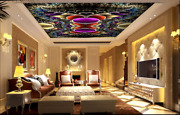 3d Floating Feather Pattern 2 Ceiling Wall Paper Wall Print Decal Wall Deco Aj
