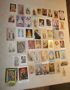 50 Holy Cards Leaflets Titles Of Blessed Virgin Mary Vintage/contemporary Nice