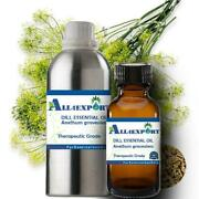 Pure Dill Seed Essential Oil Anethum Graveolens Natura Ayurveda Herbal Aroma