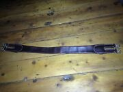 Light Horse Wwi Folded Leather Girth To Suit Lh Saddle
