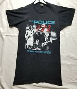 The Police Shirt Vintage 1982 Ghost In The Machine Tour Rock Band Sting Rock