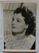 Ruth Hussey Signed Photo In Blue Ink.isp