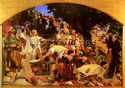 Brown Ford Madox Work Artist Painting Reproduction Handmade Oil Canvas Repro