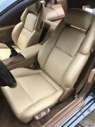1990-1999 For Nissan 300zx / Z32 Leather Replacement Seat Covers Light Oak