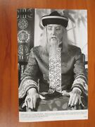 Vintage Glossy Press Photo Peter Sellers In Fiendish Plot Of Dr Fu Manchu 3