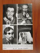 Vintage Glossy Press Photo Peter Sellers In Fiendish Plot Of Dr Fu Manchu 6