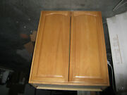 3 New Solid Wood Finished Wall Kitchen Cabinets, 33' X 40' X 12' Each