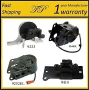 4 Pcs Motor And Trans Mount For 2007-2008 Nissan Maxima 3.5l With Sensors