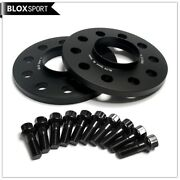 4 10mm 5x112 Hub Centric Black Wheel Spacers For Mercedes Benz C300 C350 C63