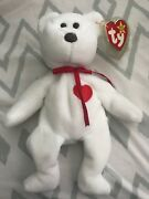 Ty Beanie Baby Valentino Bear 1993 Excellent Condition