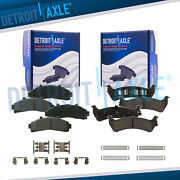 Front And Rear Ceramic Brake Pads For Ford Explorer Ranger Mercury Mountaineer