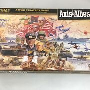 Axis And Allies 1941 World War Ii War Strategy Board Game Sealed Contents Complete