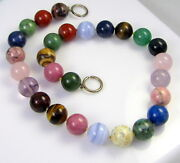 And Co Signed Paloma Picasso Sterling Silver 15mm Colorful Bead Necklace