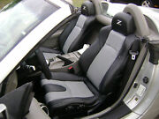 Fits For Nissan 2003-2008 350z Replacement Leather Seat Covers Black/light Grey