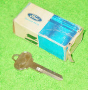 1965 1966 Mustang Fastback Coupe Convert Gt Shelby Nos Trunk Lock Pony Key Blank