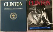 Clinton Portrait Of Victory By Rebecca Buffum Taylor/ 1st Ed/1993/signed