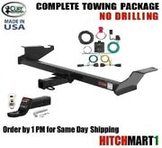 Fits 2008-2010 Grand Caravan Town And Country Curt Trailer Hitch Package 13364