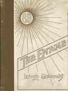 The Epitome Lehigh University Yearbook 1889
