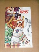 1968 Minnesota Pipers Aba Media Guide, Formerly Pittsburgh, Connie Hawkins
