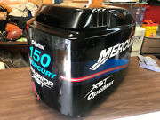 2001 Mercury Optimax 150 Hp V6 Outboard Engine Hood Top Cowl Cover Freshwater Mn
