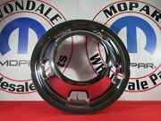 Dodge Ram 3500 Chrome Front Dually Wheel Cover New Oem Mopar
