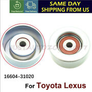 Fits For Toyota Lexus Drive Belt Idler Pulley 16604-31020 16604-0p011 Us Stock