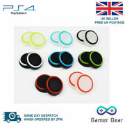 50 X Striped Rubber Thumb Stick Cover Grip Ps4 Xbox One Controller Wholesale