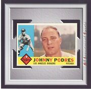 1960 Topps Johnny Podres 425 Nm-mt Amazing Baseball Card For Your Set M88c