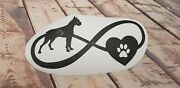 Boxer Dog Love Vinyl Decal Sticker Car Laptop Esky 29x18cm Uvproof Waterproof