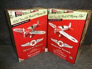 2011 Wings Of Texaco Mystery Ship Airplane 1930 Model R Regular And Special 19 B